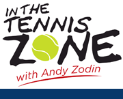 IN THE TENNIS ZONE